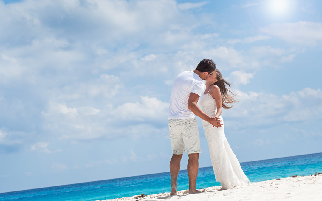 Beach Vow Renewal Ceremony