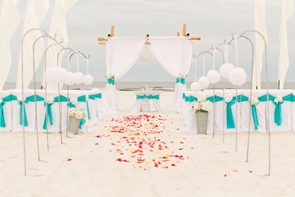 Gulf Coast Alabama Beach Wedding Packages