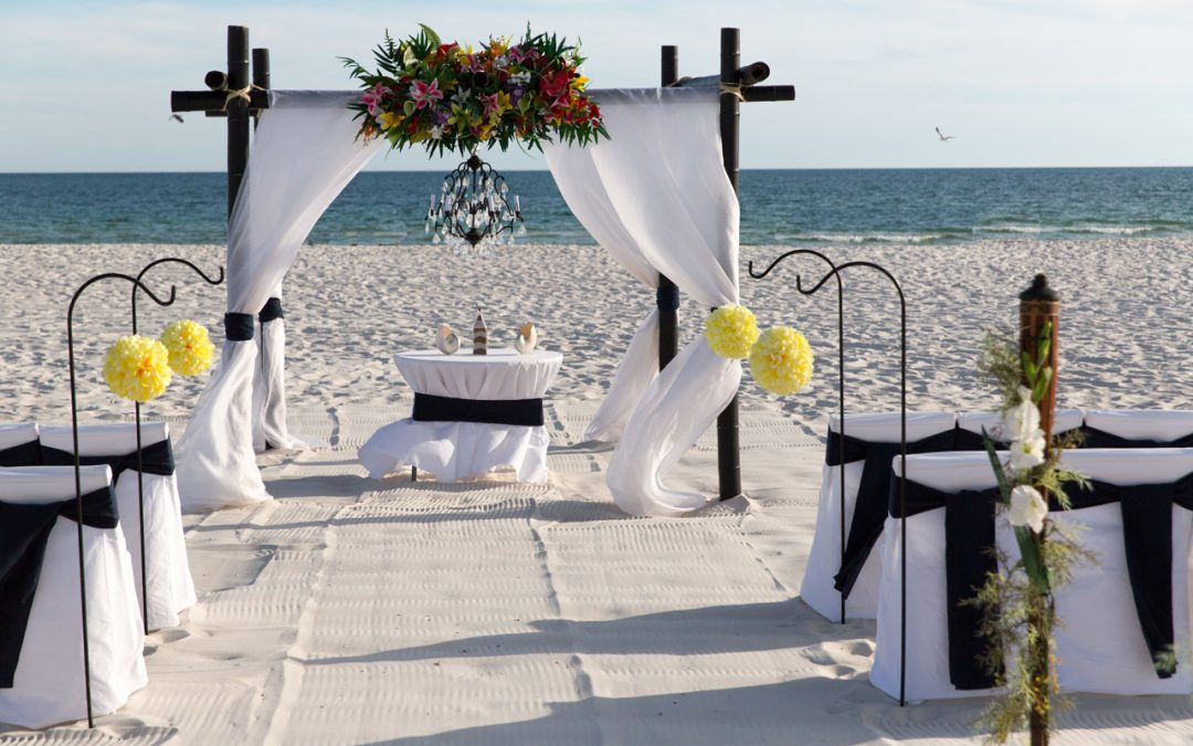 Something Blue Beach Wedding Package